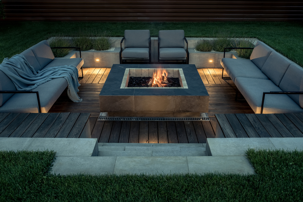 Cumaru Deck In Firepit